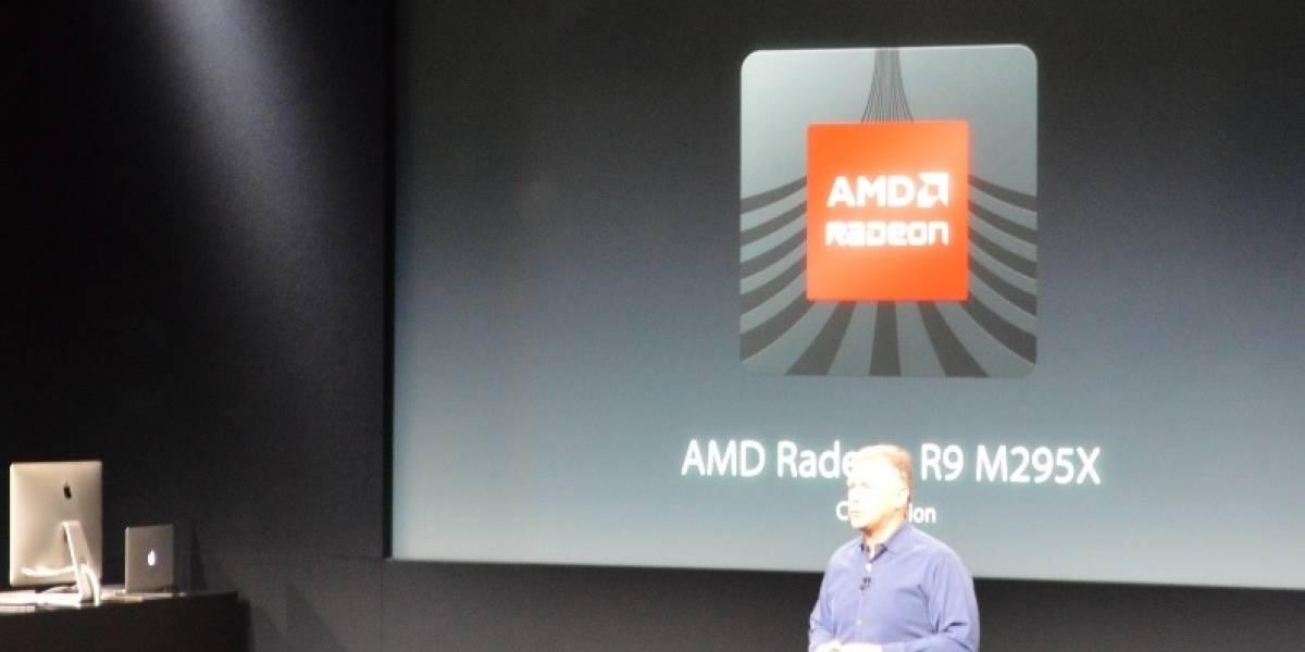 """AMD lanza su GPU Radeon R9 M295X """"Tonga XT"""""""