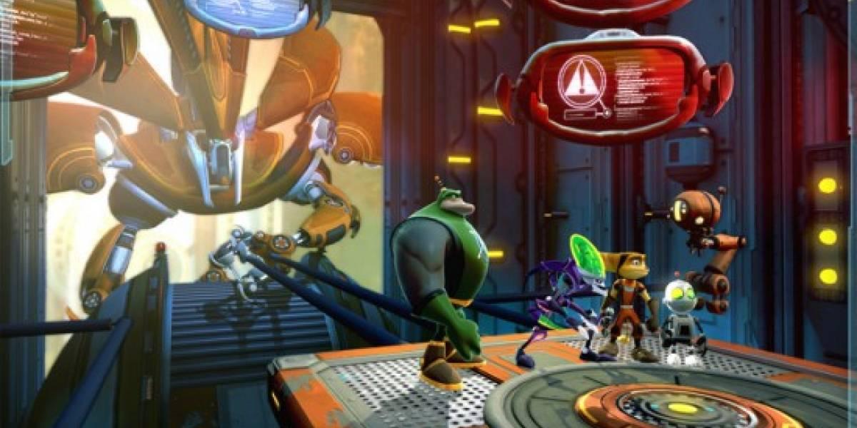 Ratchet and Clank: All 4 One anunciado para PS3 [gamescom 2010]