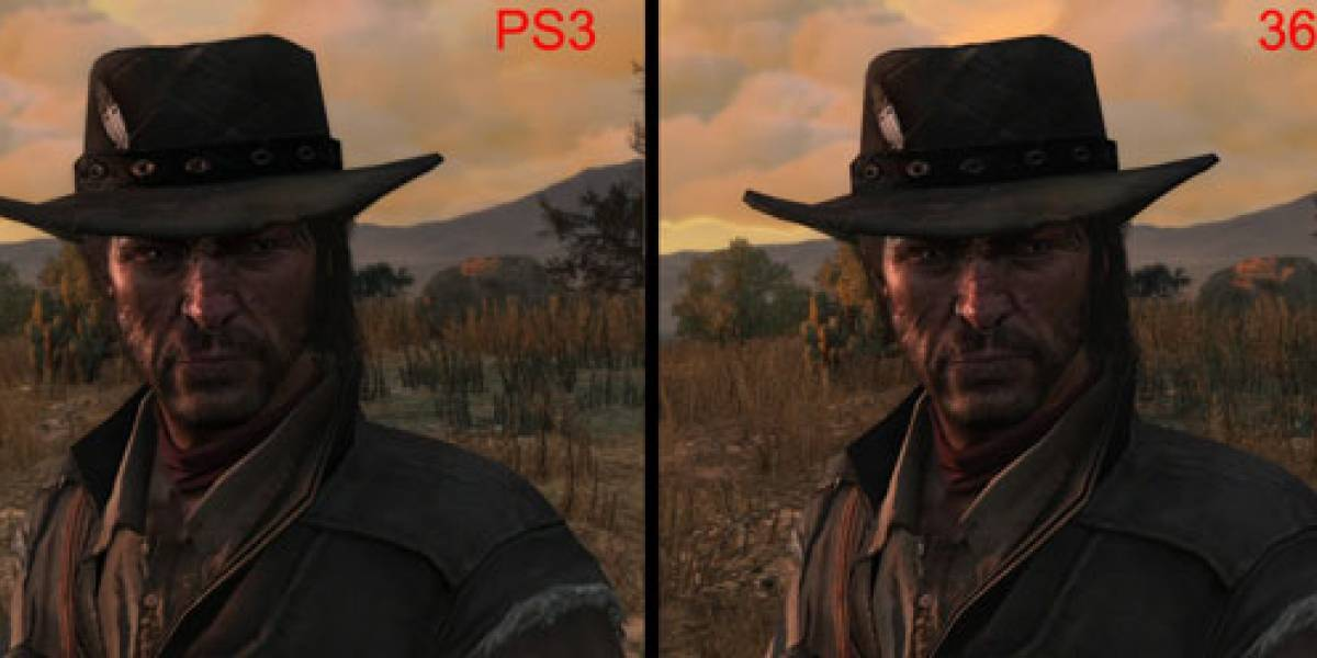 Red Dead Redemption se ve más chulo en Xbox 360