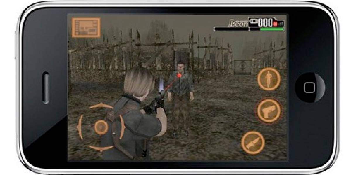 Resident Evil 4 para Iphone era cierto, y ya está disponible