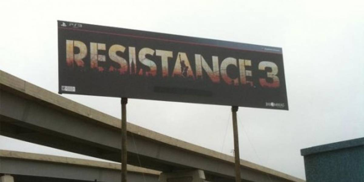 Resistance 3 queda para 2011