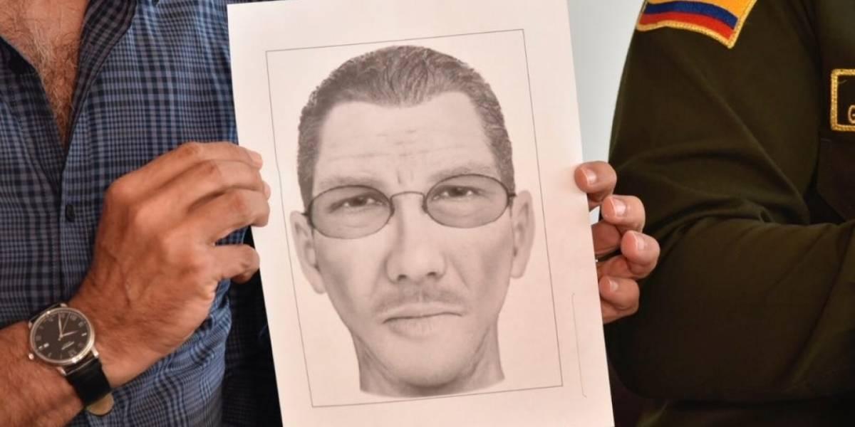 Revelan retrato hablado de otro presunto autor del atentado en Barranquilla