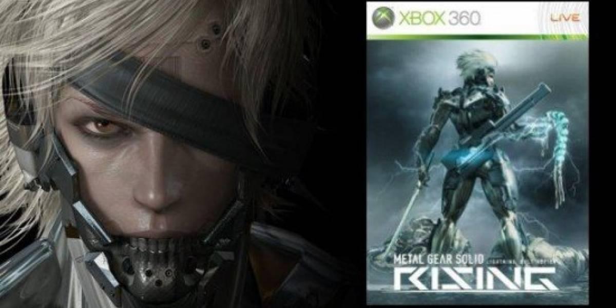 MGS Rising tiene carátula y Solid Snake no sabe nada de ese juego...aún