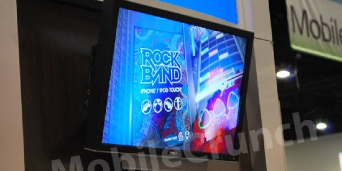 Rock Band llegará al iPhone