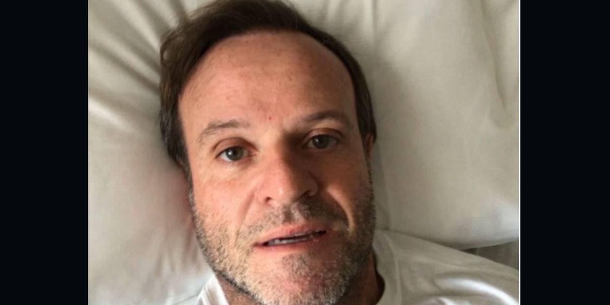 Por causa de 'veiazinha' na cabeça, Barrichello vai parar no hospital