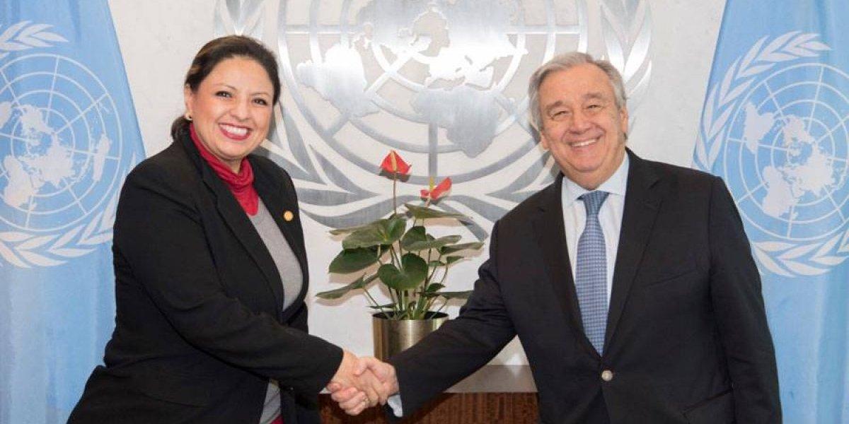 """Analizan """"preocupaciones"""" sobre CICIG expresadas por la Canciller en la ONU"""