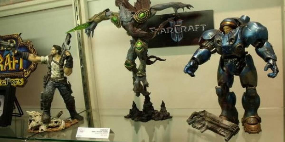 Figuras de Acción de StarCraft II [Comic-Con 10]