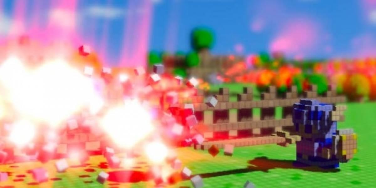 3D dot game heroes es moderno y retro a la vez