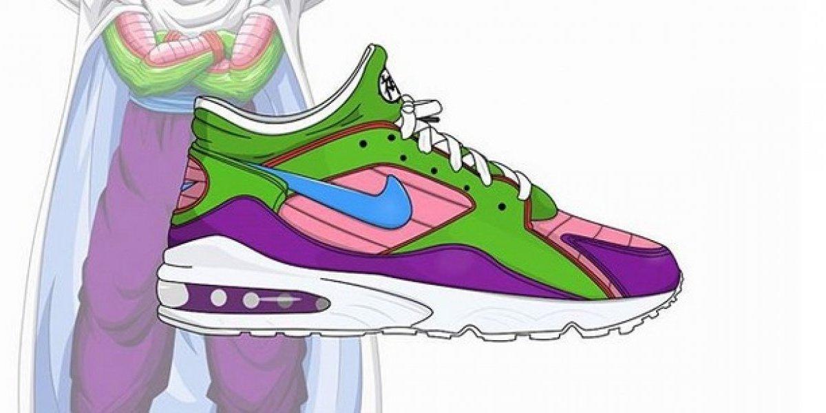 Así serían los tenis Nike de Dragon Ball Z