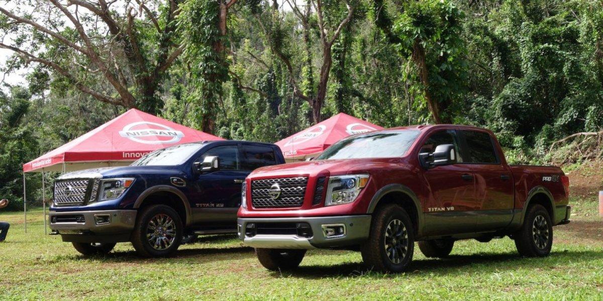 Nissan estrena su nueva pick up, la Titan 2018
