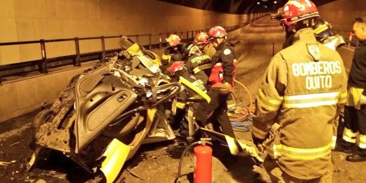Un herido tras accidente de tránsito en El Tejar