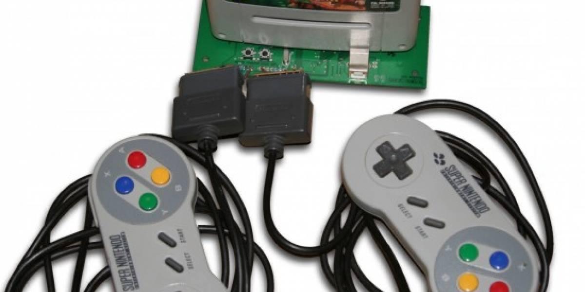 Cómprate un adaptador USB de cartuchos SNES y Sega Genesis