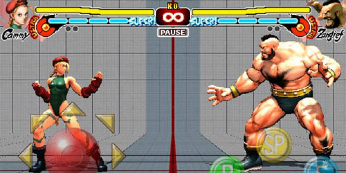 Cammy y Zangief disponibles gratuitamente para SFIV de iPhone