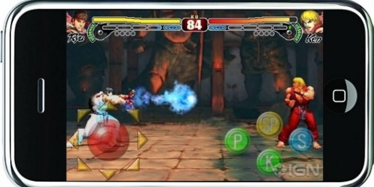 Street Fighter IV también llegará al iPhone, y no es broma