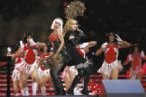 Super Bowl XLVI Madonna, Nicki Minaj y MIA
