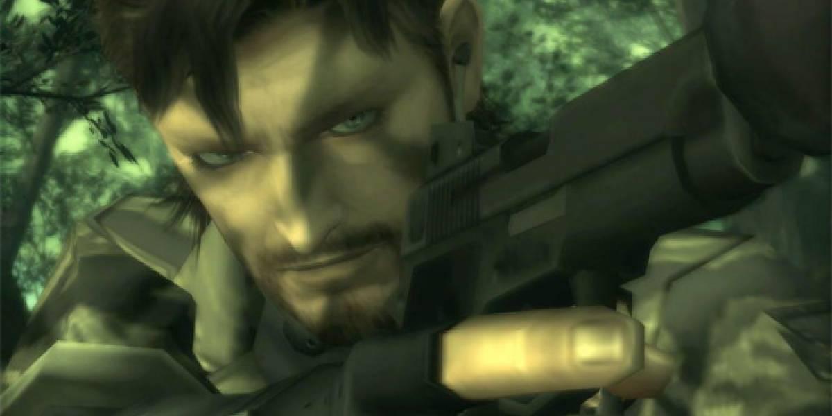 Metal Gear Solid 3 llegará a la 3DS el próximo año [TGS 10]