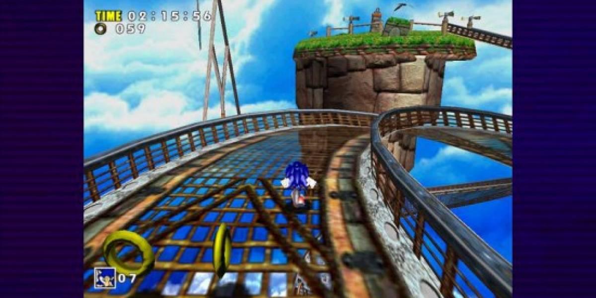 Sonic Adventure se queda en formato 4:3 para PSN y XBLA