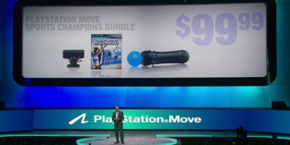 Precio y fecha de salida de PS Move [E3 2010]