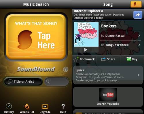 SoundHound para iOS y Android ahora permite etiquetar