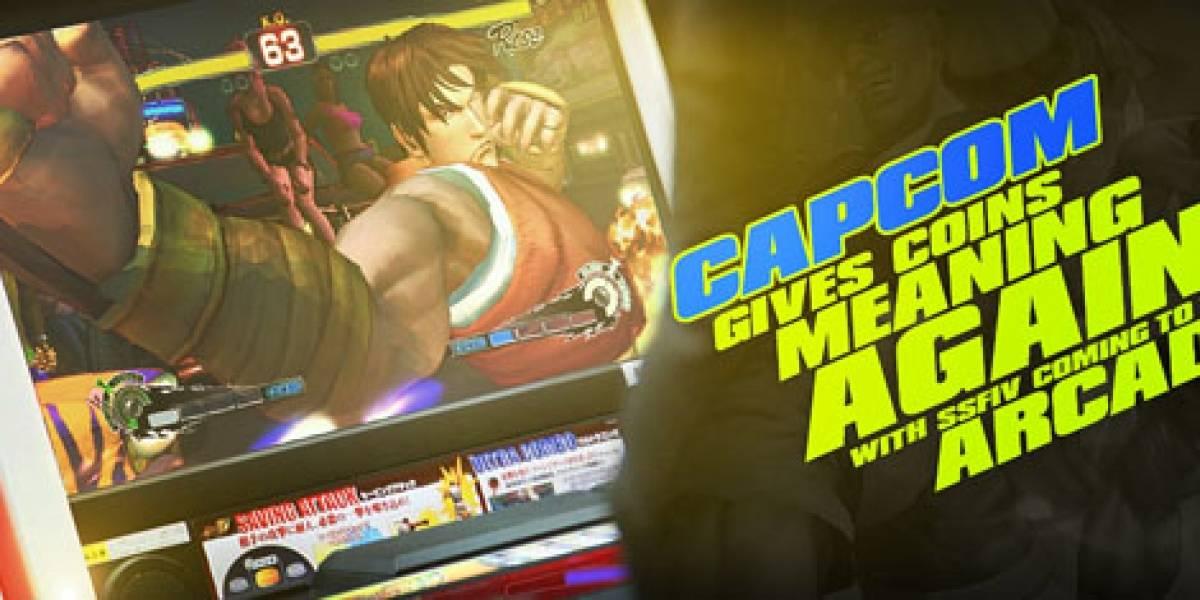Super Street Fighter IV para arcade, ahora si que si
