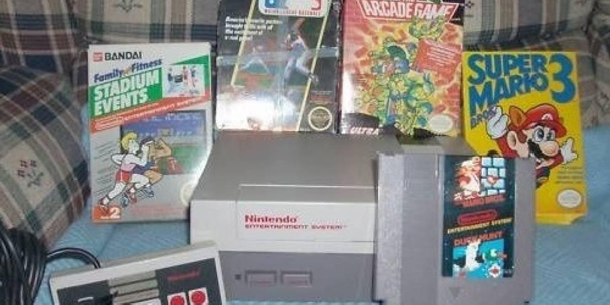 Madre vende un NES y cinco cartuchos por U.S.$13,105