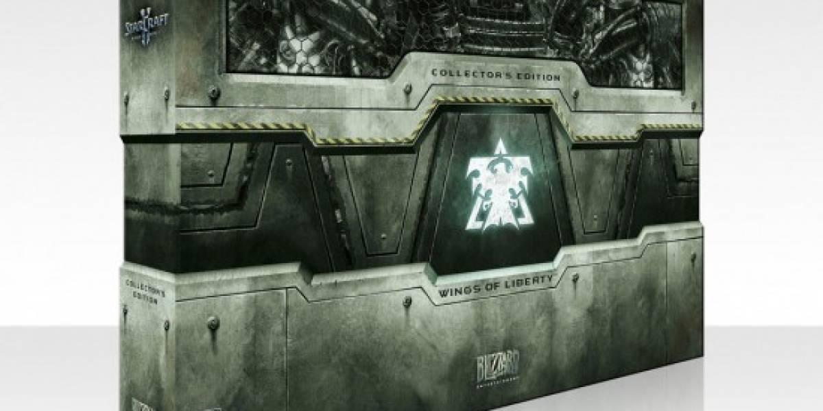 Blizzard anuncia edición para coleccionistas de StarCraft II: Wings of Liberty