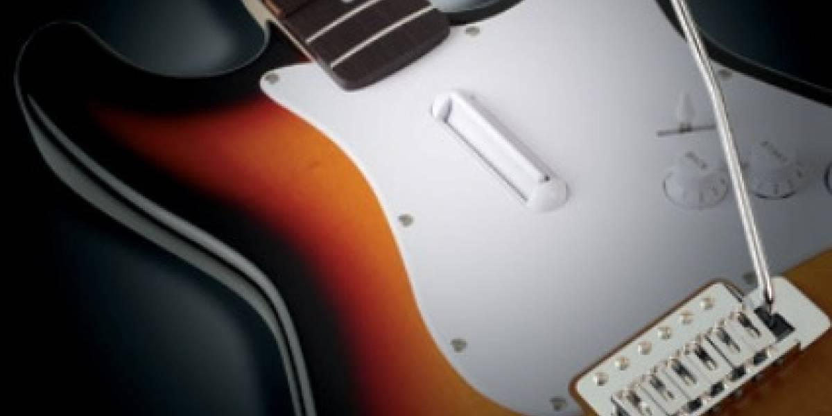 Guitarra Stratocaster para Rock Band