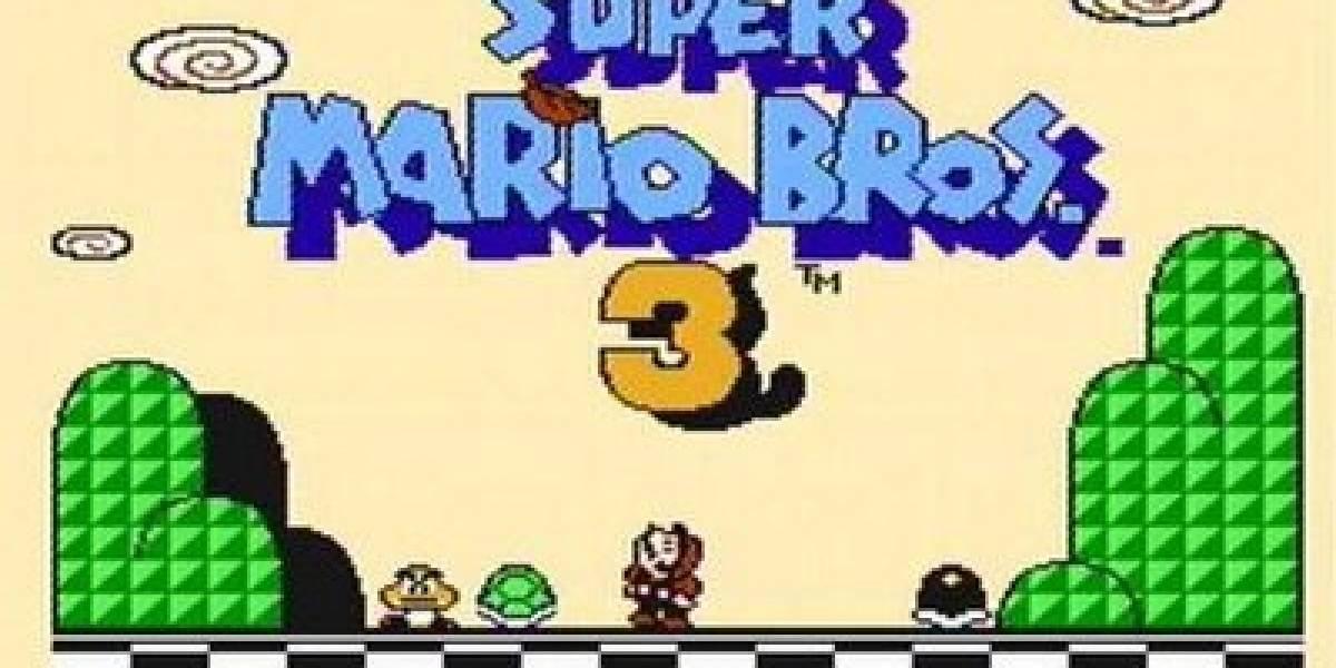 Los 20 años de Super Mario Bros. 3 en América