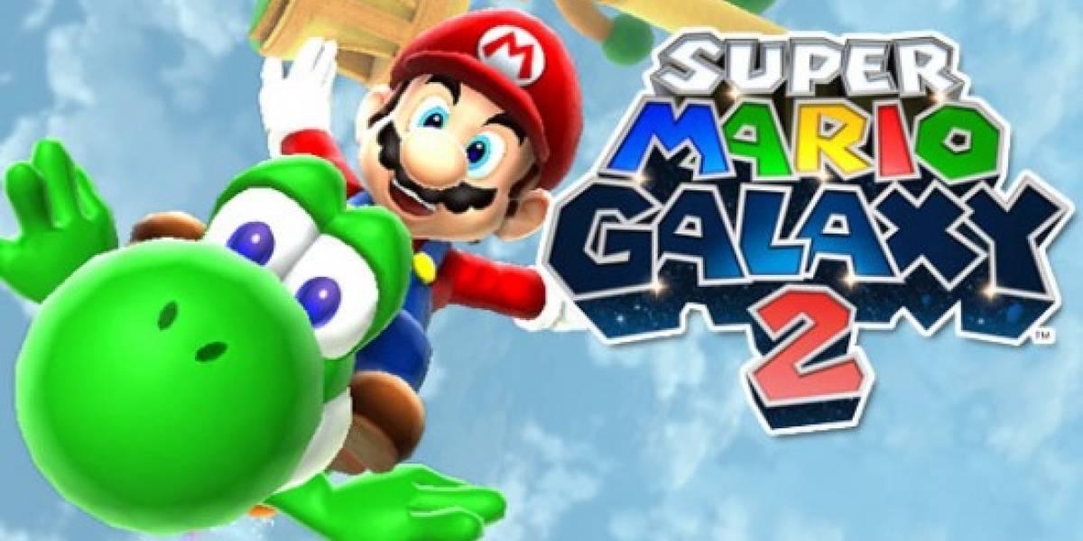 Super Mario Galaxy 2 trae un DVD... que no funciona en la Wii