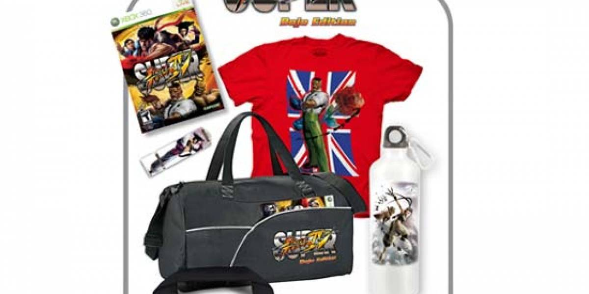 Capcom revela la edición especial de Super Street Fighter IV