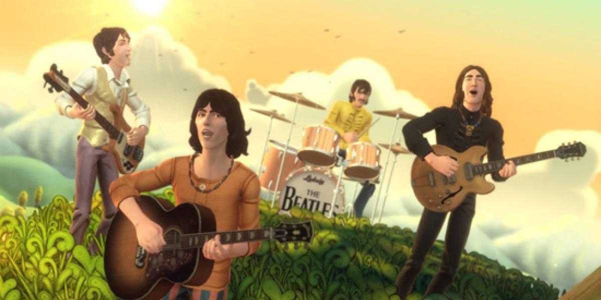 El contenido descargable para The Beatles: Rock Band depende de las ventas