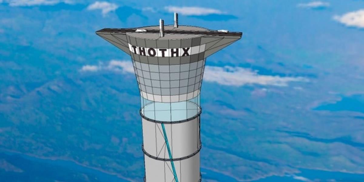 Canadá prepara el primer ascensor hacia el espacio exterior