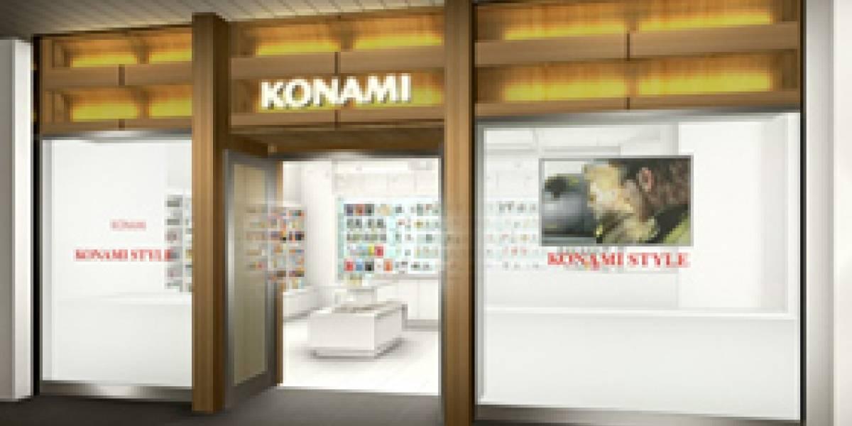 Konami abre su primera tienda en Tokio