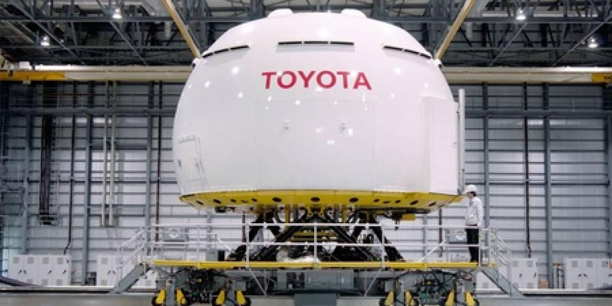 El simulador de automóviles más grande del mundo