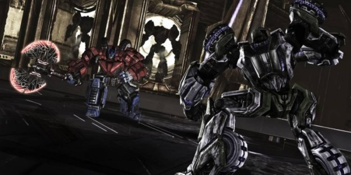 Un video multiplayer de Transformers: War for Cybertron