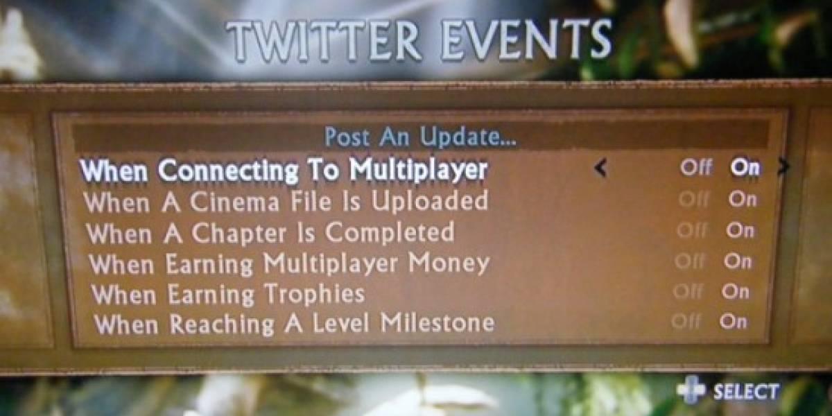 Uncharted 2 usará Twitter por ti
