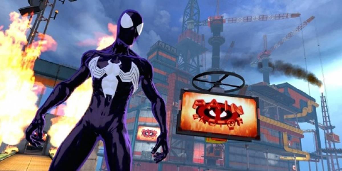 Ultimate Universe es el cuarto universo de Spider-Man Shattered Dimensions [Comic-Con 10]