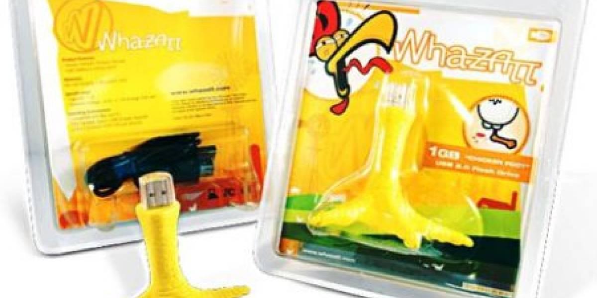 Impresentable: Pata de pollo USB (!?)