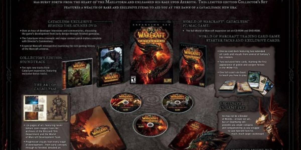 Blizzard revela edición de colección de WoW Cataclysm