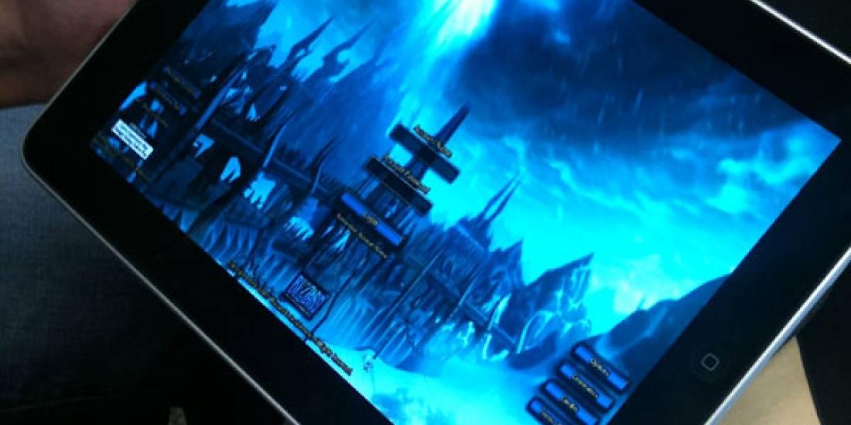 World of Warcraft corriendo en el iPad