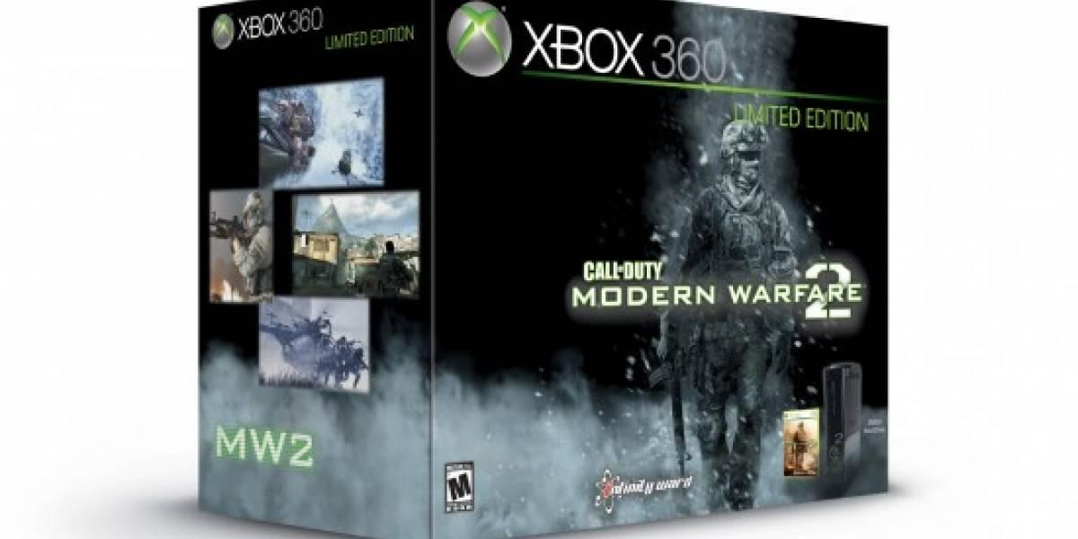 XBOX 360 250GB versión Modern Warfare 2