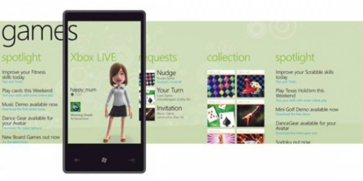 Los juegos de lanzamiento de Xbox Live en Windows Phone 7 [gamescom 2010]