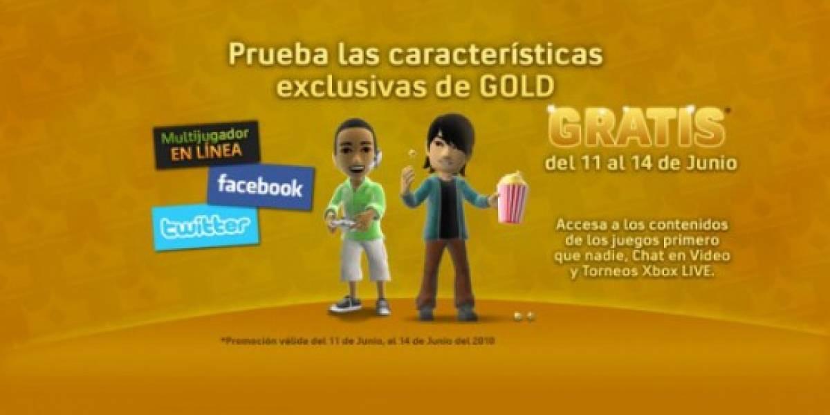 Xbox LIVE Gold gratis este fin de semana