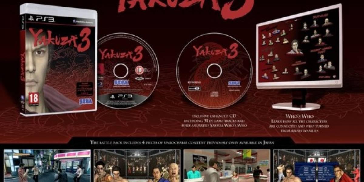 SEGA presenta la edición de colección de Yakuza 3