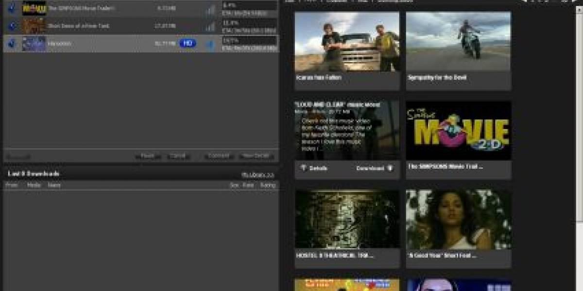 Zudeo de Azureus: HDTV por BitTorrent