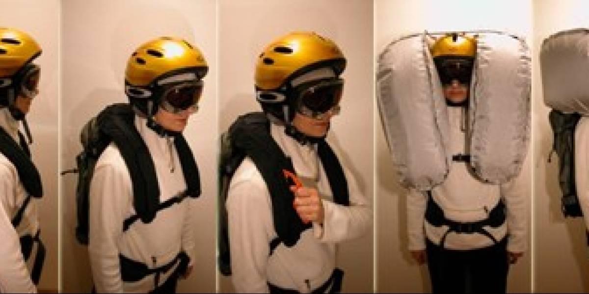 LifeBag: Un airbag para la nieve