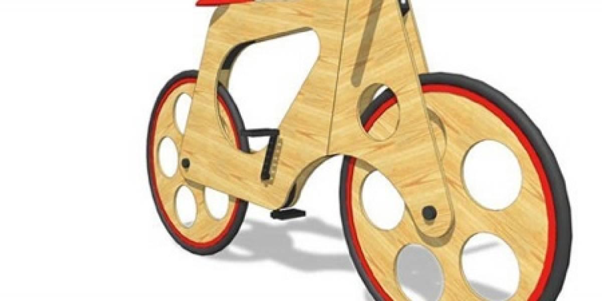 Bicicleta OLC: Hecha con materiales reciclados, fácil de armar y económica