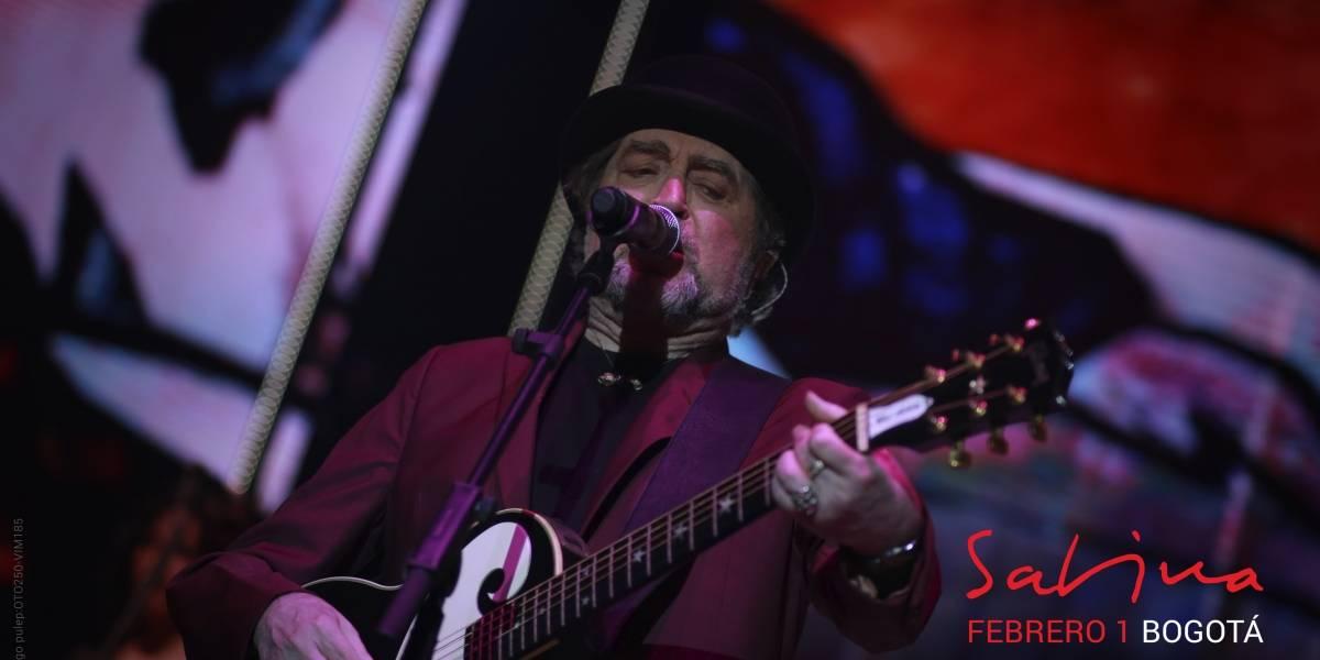 Así se vivió el concierto de Sabina en Bogotá