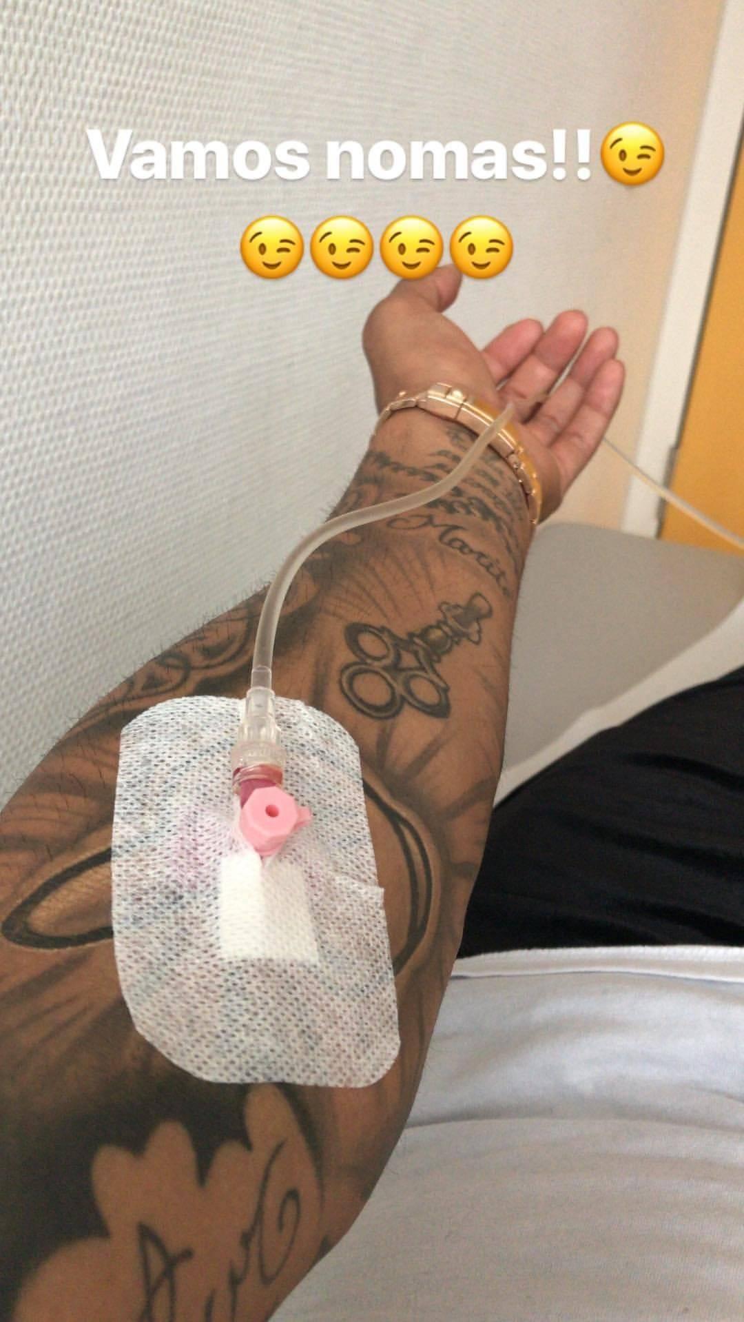 Arturo Vidal sufre con una gastroenteritis