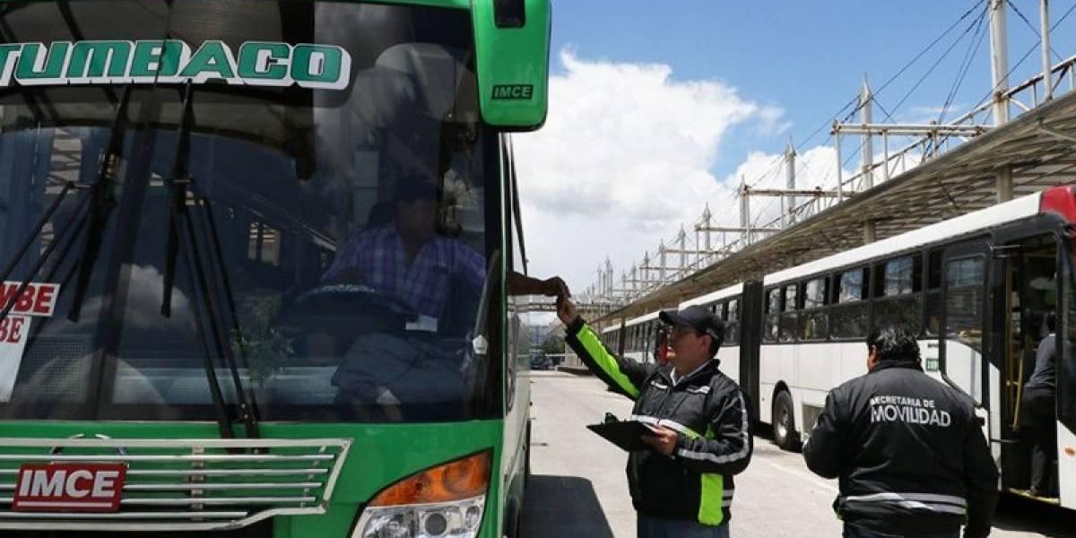 Municipio reforzará supervisión y control del transporte público en comicios electorales